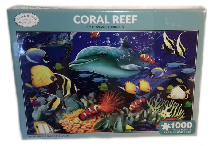 Coral Reef Rectangular 1000 Piece Jigsaw
